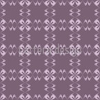 Curly Checks Pattern Design