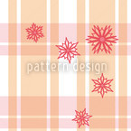Scottish Stars Seamless Vector Pattern Design