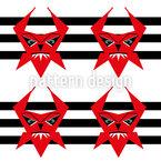 Teufel Nahtloses Muster