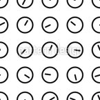 What Time Is It Seamless Vector Pattern Design