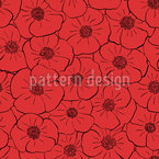 Delightful Poppy Field Vector Design