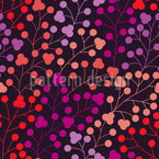 Pop Berries Seamless Vector Pattern Design