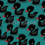 Baby Entenküken Muster Design