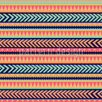 Tribal Mix Seamless Vector Pattern Design