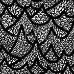 Auf dem Hügel Muster Design