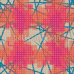 Gepixelte Flecken Musterdesign