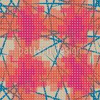 Manchas Pixeladas Design de padrão vetorial sem costura