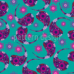 Paisley Dream Seamless Vector Pattern Design