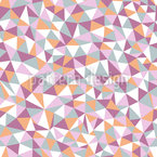 Mosaic Melancholy Seamless Vector Pattern Design