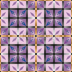 Kristall Fliesen Musterdesign