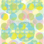 Pixel And Point Seamless Vector Pattern Design