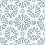 Organia Floral Seamless Vector Pattern Design