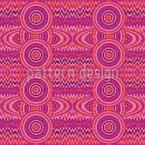 Weibliche Pixel Planeten Nahtloses Vektor Muster