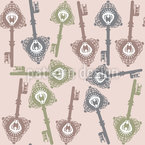 The Keys To Fairytale Kingdom Vector Ornament