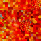 Heisser Pixel Pool Muster Design