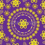 楽しい曼荼羅 シームレスなベクトルパターン設計