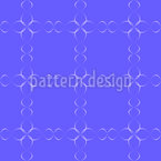 Magic Flower Chains Seamless Vector Pattern Design