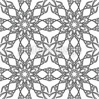 Monochrome Gothic Seamless Vector Pattern Design