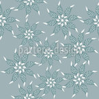 Flowers In The Winter Dress Vector Design
