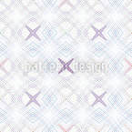 Rainbow Coordinates Seamless Vector Pattern Design