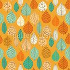 Die Fallenden Blätter Rapportiertes Design