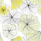 Hibiskusblüten Nahtloses Vektor Muster
