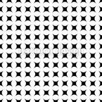 Simply Black Or White Seamless Vector Pattern
