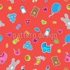 Baby Spielzeug Muster Design