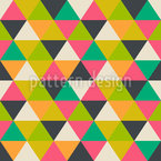 Harlequin Upside Down Vector Pattern