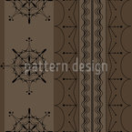 Nordic Brown Repeat Pattern