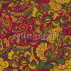 Autumn Fantasies Seamless Vector Pattern Design