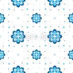 Kornblümchen Muster Design