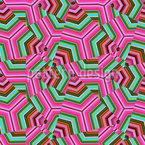 Pop Art Dreiecke Vektor Muster