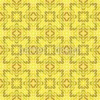 Das Labyrith Des Sonnengottes Nahtloses Vektormuster