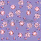 Melanconia Floreale disegni vettoriali senza cuciture