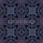 Anochecer geométrico Estampado Vectorial Sin Costura