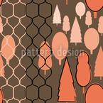 Zaunwald Nahtloses Muster
