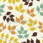 First Symphony Of Leaves Seamless Pattern