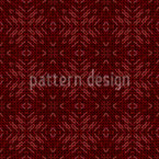 Earthy Mosaic Seamless Vector Pattern Design