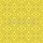 Zitronen Geometrie Nahtloses Vektormuster