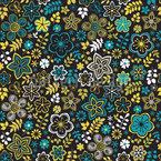 Kleine Blumen Rhapsodie Nahtloses Muster