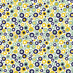 Soda Club Bubbles Seamless Vector Pattern Design