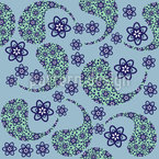 Cool Paisley Dance Motif Vectoriel Sans Couture