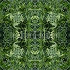 Das Dschungel Portal Nahtloses Vektormuster
