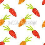 Karotten Nahtloses Vektormuster