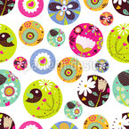 Pin Fantasy Seamless Vector Pattern