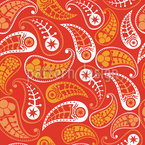 The Comeback Of The Summer Paisleys Seamless Vector Pattern Design