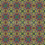 Pixel Gotik Nahtloses Vektormuster
