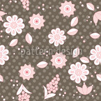 Nordic Floral Dream Repeat Pattern