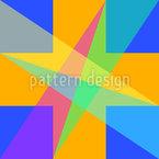 Geometría de ventanas Estampado Vectorial Sin Costura